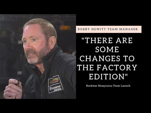 """There are some changes"" Bobby Hewitt Rockstar Racing Intro - Motocross Action Magazine"