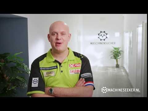 Michael van Gerwen - De nummer 1 in Darts beveelt de nummer 1 voor gebruikte machines aan