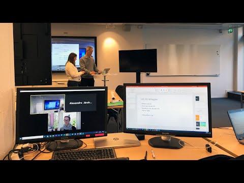 Behind the scenes - Vi levererar informationsmodelleringskurs på distans