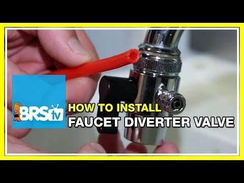 How to install a faucet diverter valve | BRStv How-To