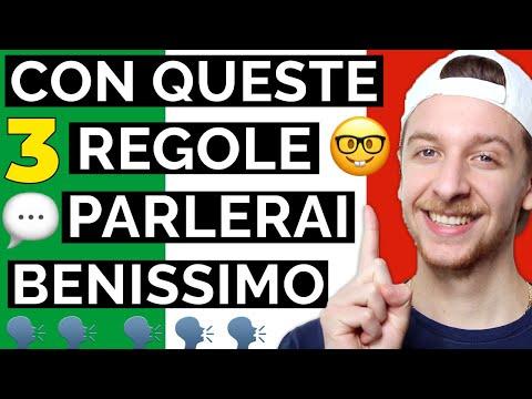 3 Regole Principali Della Grammatica Italiana (Sub ITA) | Imparare l'Italiano