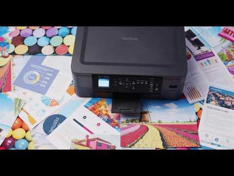 Inkjetprinter: DCP-J1050DW - produktvideo