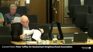 04.05.19 - Verbal Submission - Peter Tuffley for Beckenham Neighbourhood Association