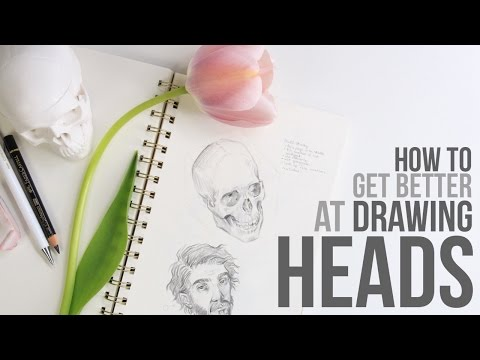 How to get Better at Drawing Heads + Faces // Japan Giveaway Winners