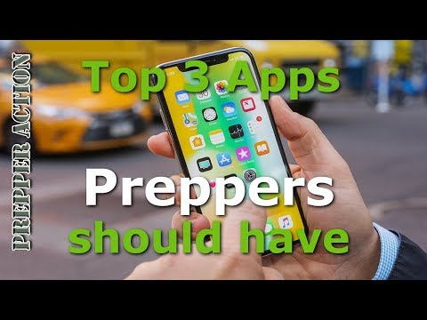 3 Apps Preppers should have on their iPhone.