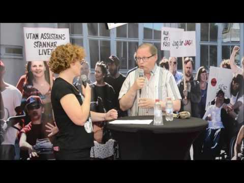 Almedalen 2016 JAG-tältet i heta stolen: Jan Lindholm (MP) riksdagsledamot