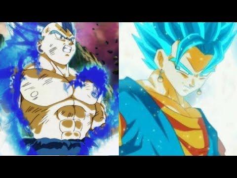 SSBE Vegeta vs Vegito Power Levels (Dragon Ball Super)