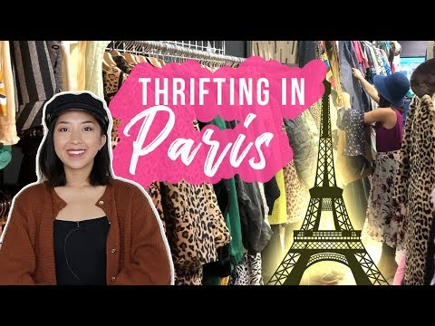 THRIFTING IN PARIS, FRANCE | TRY-ON HAUL