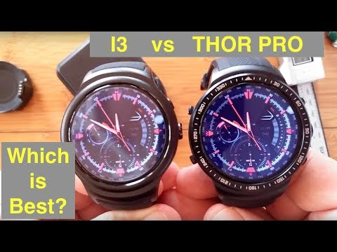 BAKEEY I3 vs ZEBLAZE THOR PRO Large Transflective Screen Smartwatches: Which should you buy?