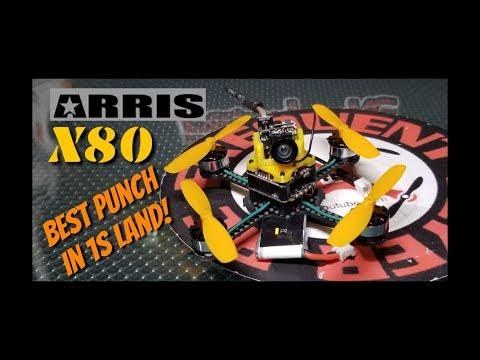 Arris X80 1S Quadcopter Quick Review - UCNUx9bQyEI0k6CQpo4TaNAw