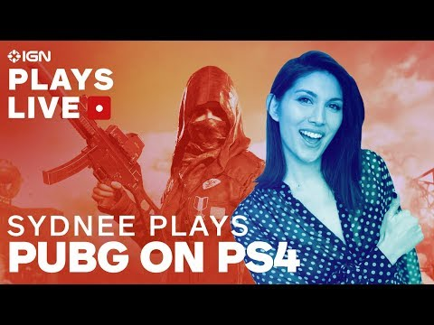PUBG On PS4 With Sydnee Goodman - IGN Plays Live - UCKy1dAqELo0zrOtPkf0eTMw