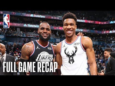 TEAM LEBRON vs TEAM GIANNIS   2019 NBA All-Star Game   February 17, 2019