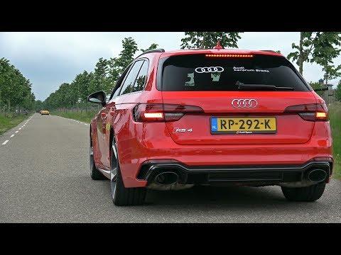 2018 Audi RS4 Avant – Start up, Revs & Accelerations!