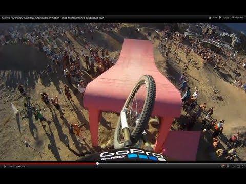 GoPro HD HERO Camera: Crankworx Whistler - Mike Montgomery's Slopestyle Run - UCqhnX4jA0A5paNd1v-zEysw
