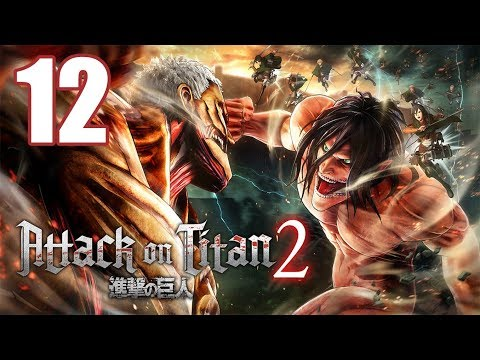 Attack on Titan 2 - Gameplay Walkthrough Part 12: Supply Base Construction