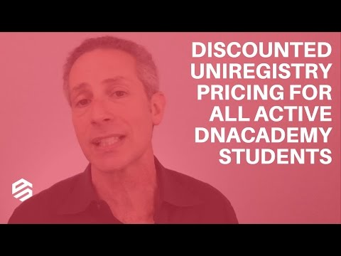 Discounted Uniregistry Pricing for All Active DNAcademy Students
