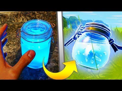 Making Fortnite Items In REAL LIFE... - default