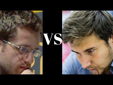 World Chess Championship Candidates (2018): Sergey Karjakin vs Levon Aronian : Berlin :  QGD