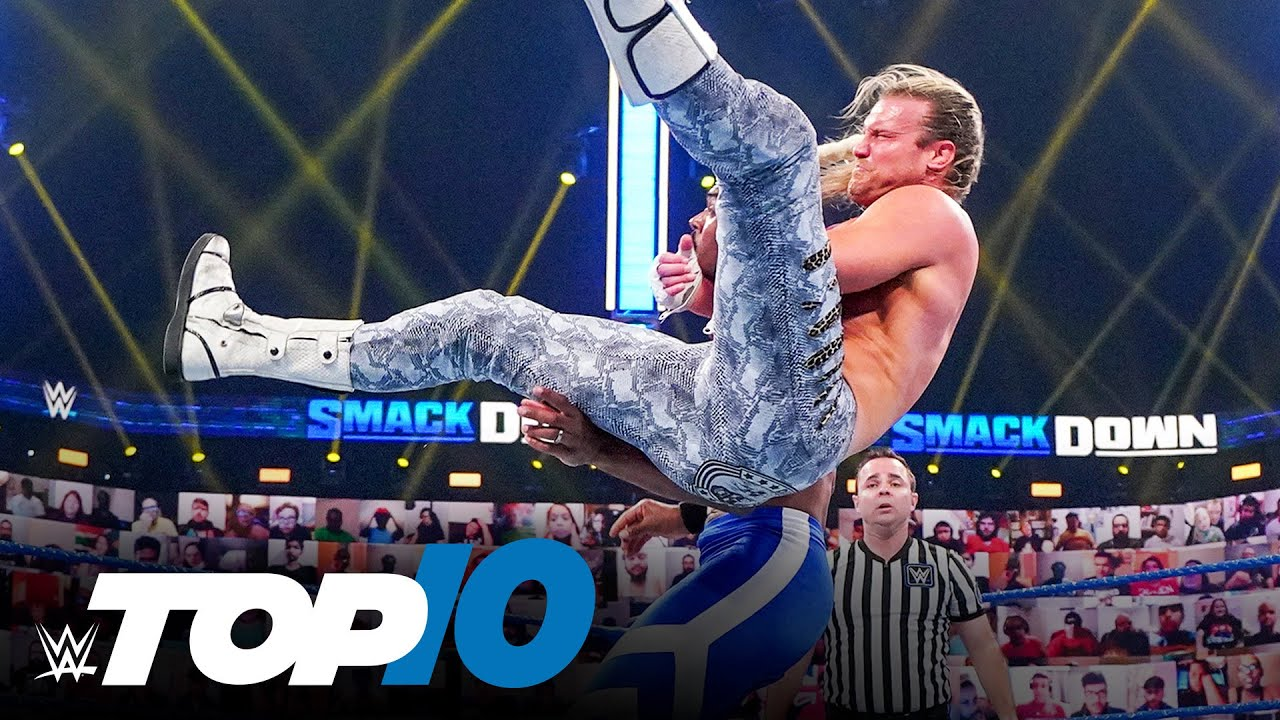 Top 10 Friday Night SmackDown moments: WWE Top 10, April 16, 2021