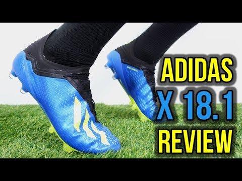 BALE, SUAREZ & BENZEMA NEW FOOTBALL BOOTS! - ADIDAS X 18.1 REVIEW + ON FEET - UCUU3lMXc6iDrQw4eZen8COQ