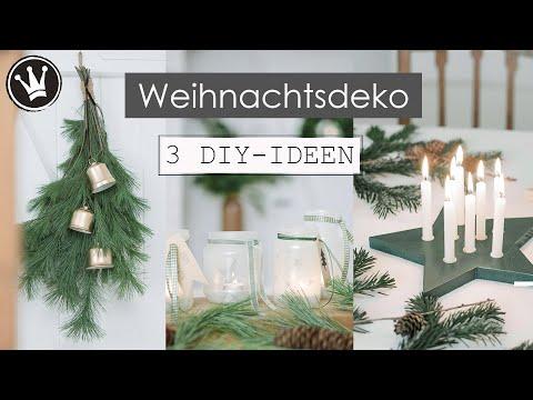 3 WEIHNACHTSDEKO DIY-IDEEN | Geschenkideen selbermachen | VERLOSUNG | DekoideenReich