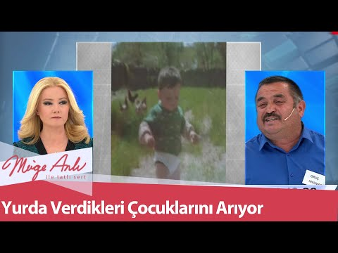 1992'de yurda verdiği çocukları Halis ile Necla'yı arıyor - Müge Anlı İle Tatlı Sert 21 Ocak 2021