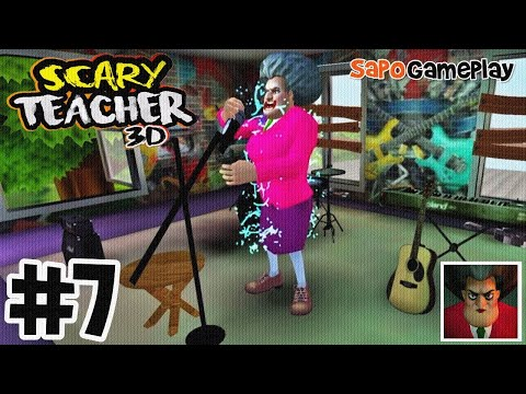 Scary Teacher 3D   Chapter 2 [Competition Time]   Gameplay Walkthrough Part 7   Jogos   SapoGamePlay