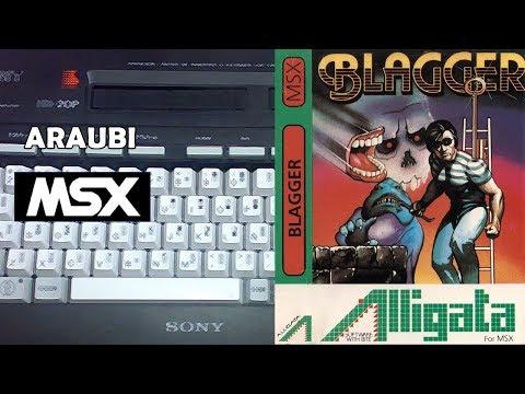 Blagger (Alligata, 1984) MSX [269] El Kiosko