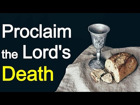 What the Lord's Supper Sees and Says - Charles Spurgeon Sermon
