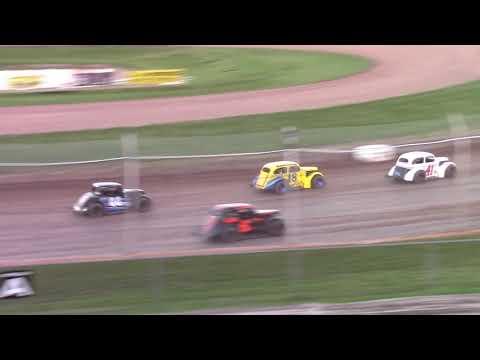 8/14/21 Legend Feature Beaver Dam Raceway - dirt track racing video image