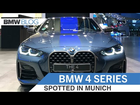 SPOTTED: 2021 BMW 4 Series (M440i) shows its large kidney grille