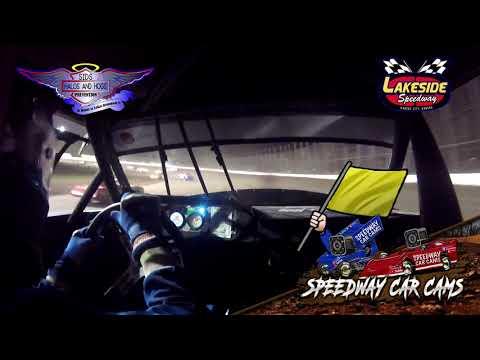 #824 Chris Barnard - USRA Stock Car - 5-14-2021 Lakeside Speedway - In Car Camera - dirt track racing video image