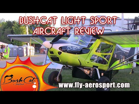 Bushcat, Light Sport Aircraft, by SkyReach, Midwest LSA Expo 2020, Mt  Vernon Illinois.
