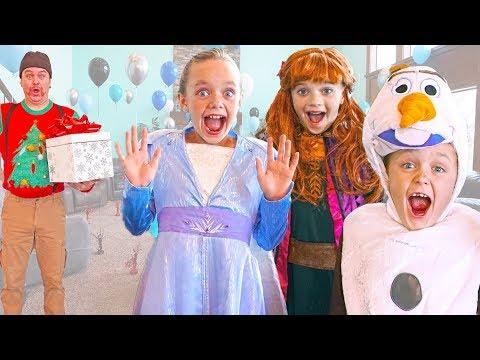 Frozen 2 - Elsa and Anna Give Olaf a Birthday Surprise! - UChsFzlDgXxa4MDlFp-28FxQ