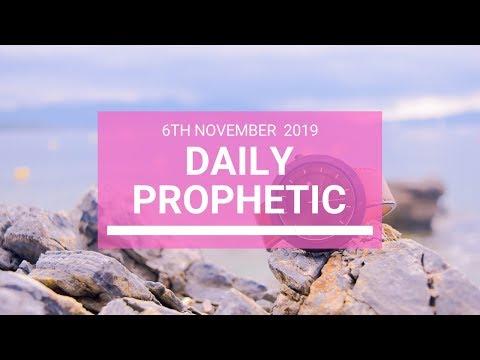 Daily Prophetic 6 November Word 5