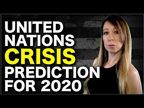 Does the United Nations Have a Crisis Planned For 2020? If Not, Then Why Did They Do This...