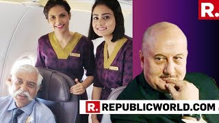 Anupam Kher Reacts After Airline Vistara Deletes Post 'Honouring' War Veteran Major Gen GD Bakshi