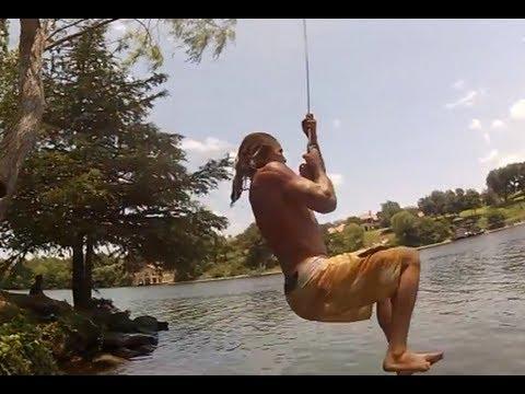 Rope swing went bad! Twisted my leg! - UCFjd060Z3nTHv0UyO8M43mQ