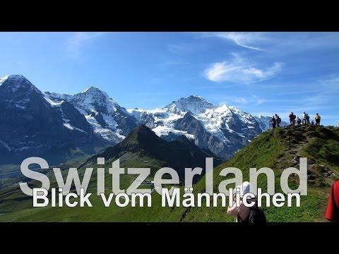 Switzerland // Swiss // Wengen // Männlichen // Grindelwald  // Wanderung - UCNWVhopT5VjgRdDspxW2IYQ