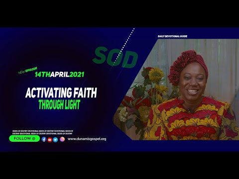 Dr Becky Paul-Enenche - SEEDS OF DESTINY  WEDNESDAY APRIL 14, 2021