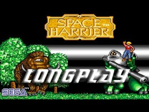 Space Harrier (Commodore Amiga) Longplay