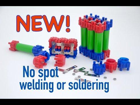 New No-Spot Weld 18650 Battery Kit Revealed! from Vruzend.com