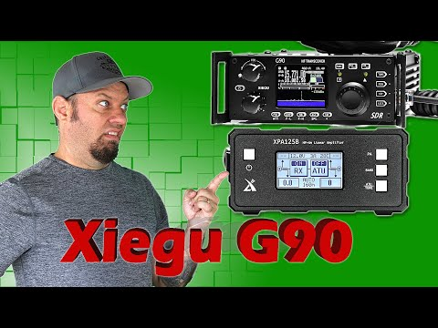 Xiegu G90 Review and Xiegu XPA125B Amp Demo - Parks on the Air