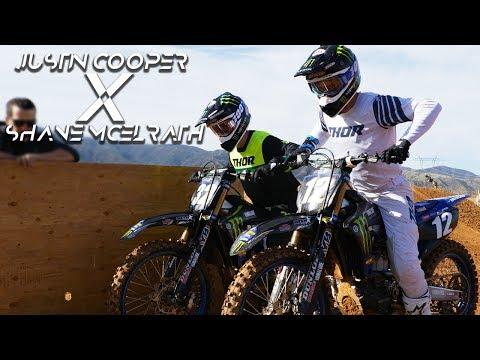 Justin Cooper & Shane McElrath Supercross - Motocross Action Magazine