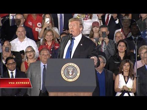 Tổng thống Venezuela: Trump có giọng điệu như Phát xít (VOA)