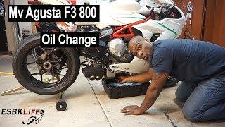 Cambio olio e filtro Mv Agusta F3