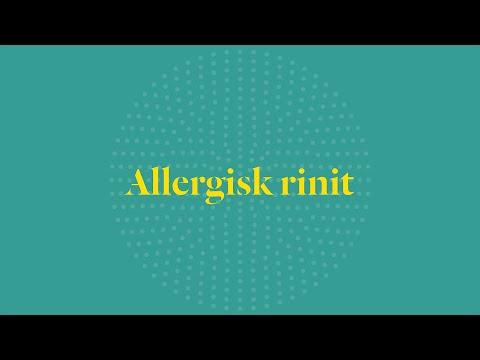 Allergisk rinit