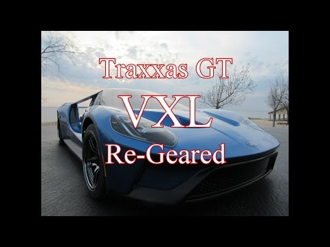 Traxxas Ford Gt Re Geared For Speed