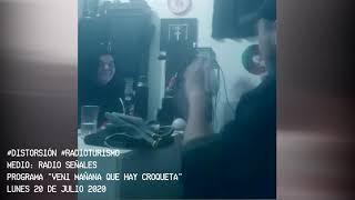 RADIOTURISMO: DISTORSION VISITA VENI MAÑANA QUE HAY CROQUETA