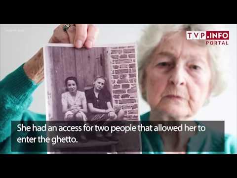 Righteous Among the Nations Anna Stupnicka-Bando recalls saving a Jewish girl